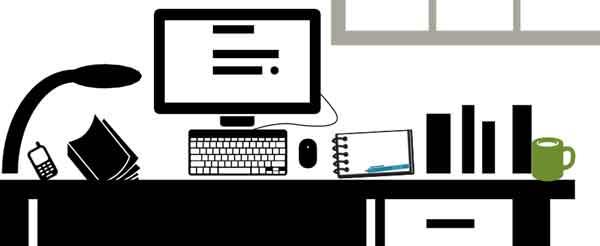 werkplek tekstschrijver -iconen door The Noun Project